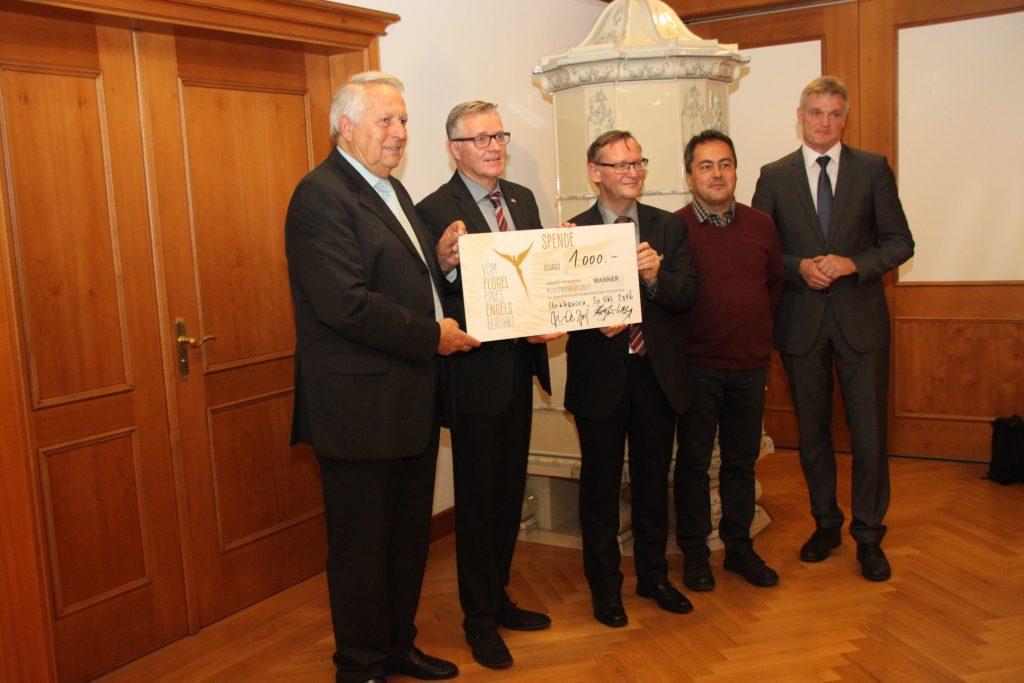Spendenübergabe an die Bürgerstiftung Bad Schussenried